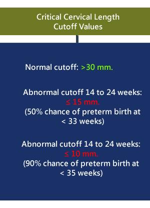 cervical length during a normal pregnancy